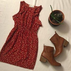 Heart Pattern Dress from Francesca's